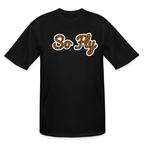 So Fly Tiger - Men's Tall T-Shirt