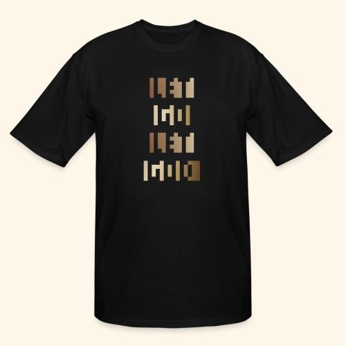 LET GO LET GOD LGLG #3 - Men's Tall T-Shirt