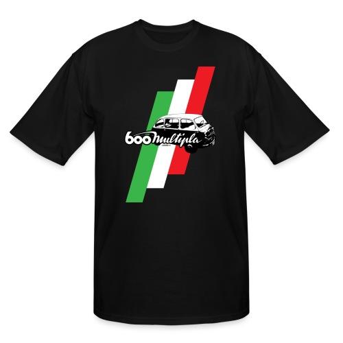 Fiat 600 Multipla script and illustration - - Men's Tall T-Shirt