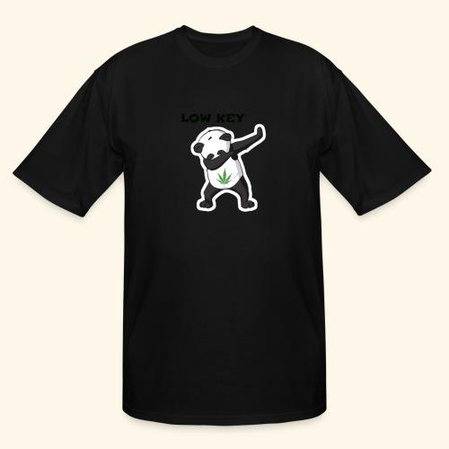 LOW KEY DAB BEAR - Men's Tall T-Shirt