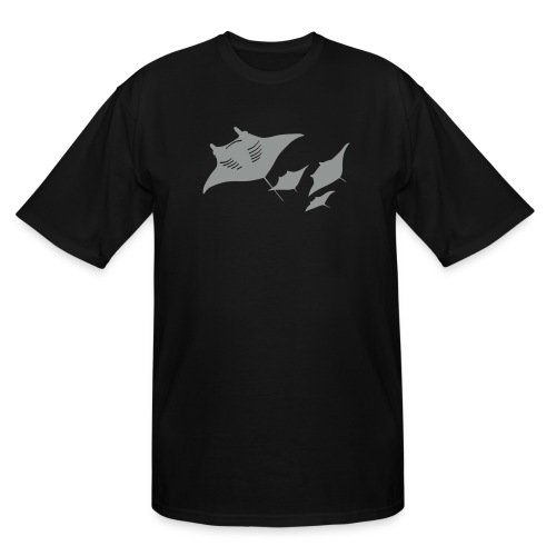 manta ray sting scuba diving diver dive - Men's Tall T-Shirt