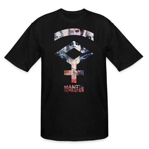 Mantis and the Prayer- Symbol Design - Men's Tall T-Shirt