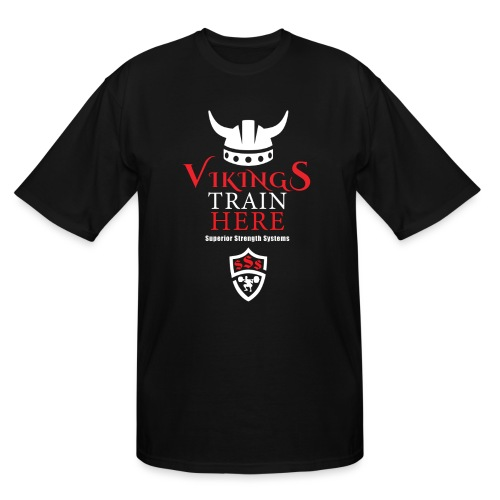 Vikings Train Here - Men's Tall T-Shirt