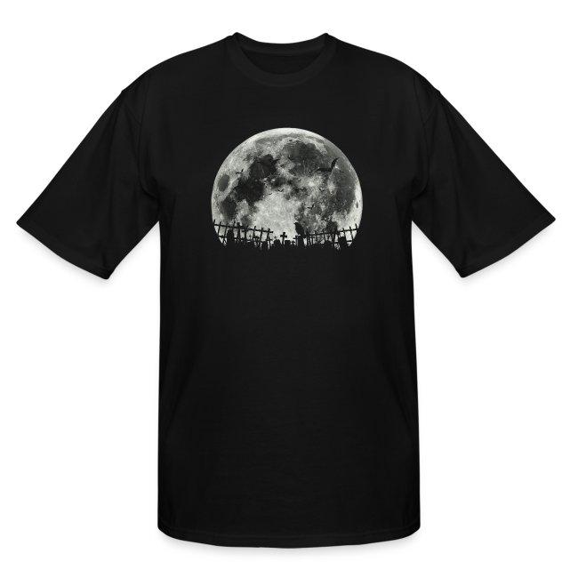 Scary Halloween moon