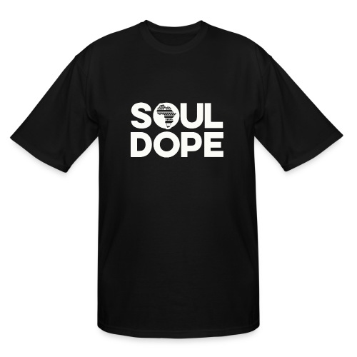 souldope white tee - Men's Tall T-Shirt