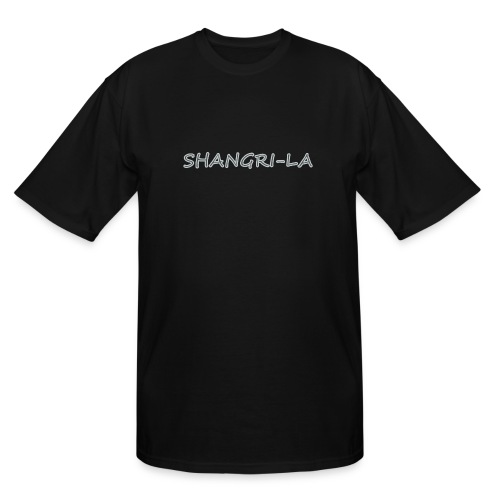 Shangri La silver - Men's Tall T-Shirt
