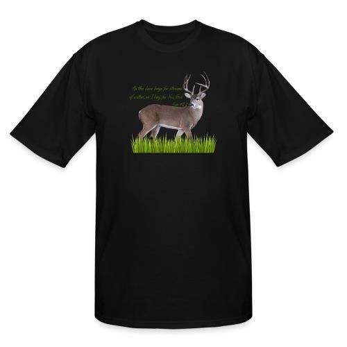 As the Deer - Men's Tall T-Shirt