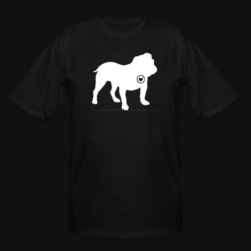 Bulldog love - Men's Tall T-Shirt