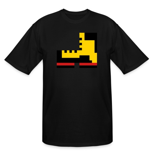 Pixel Boot VECTOR small - Men's Tall T-Shirt