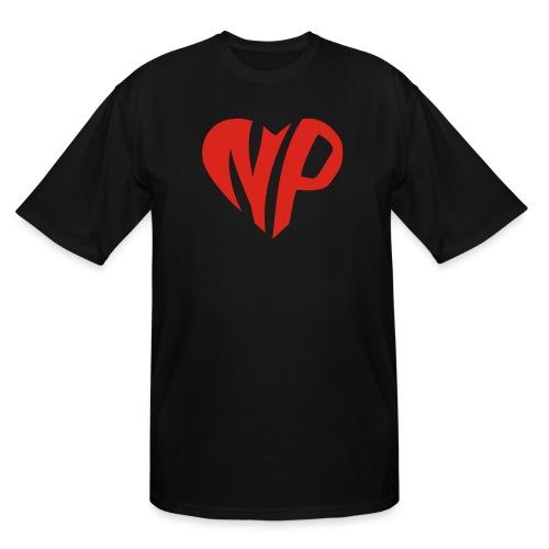 np heart - Men's Tall T-Shirt
