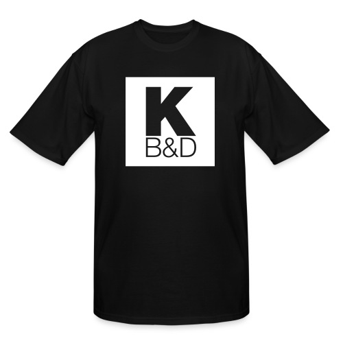 KBD_White - Men's Tall T-Shirt