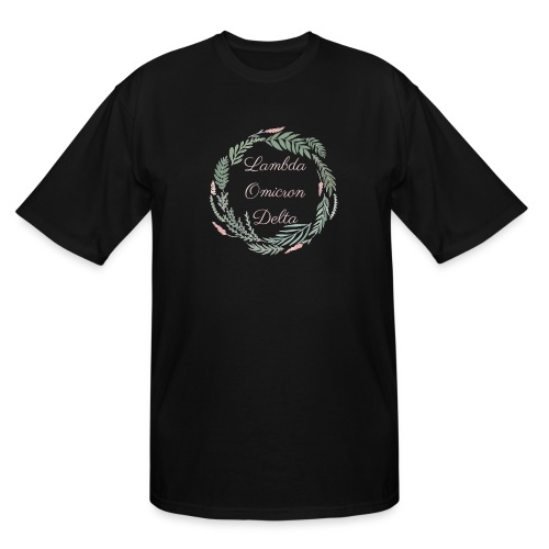 LOD Flower Wreath 1 - Men's Tall T-Shirt