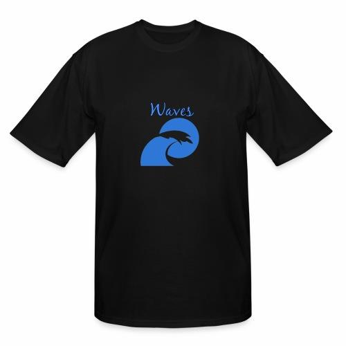Waves - Men's Tall T-Shirt