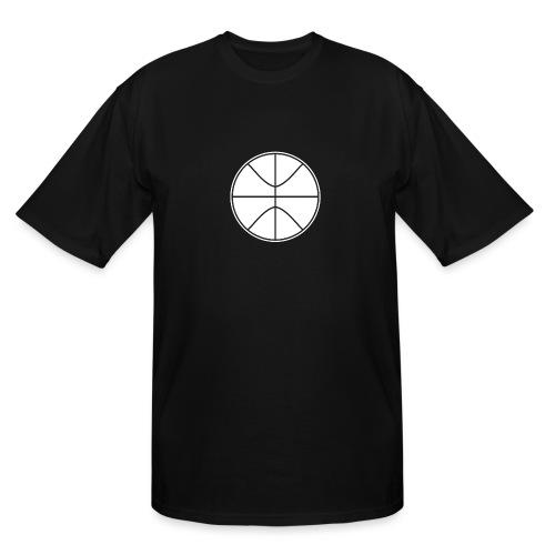 Basketball black and white - Men's Tall T-Shirt