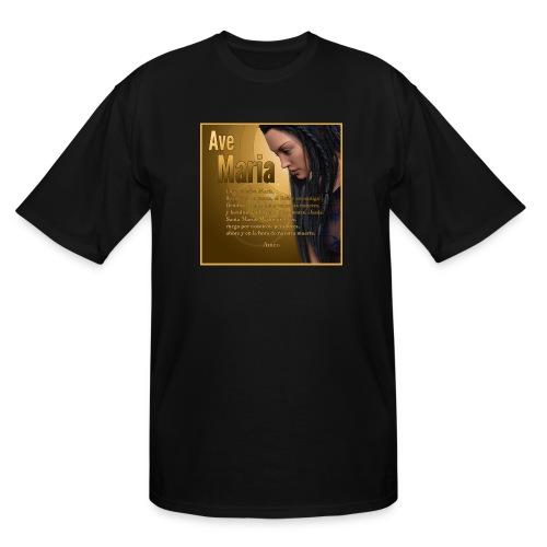 Ave María - La oración en español - Men's Tall T-Shirt