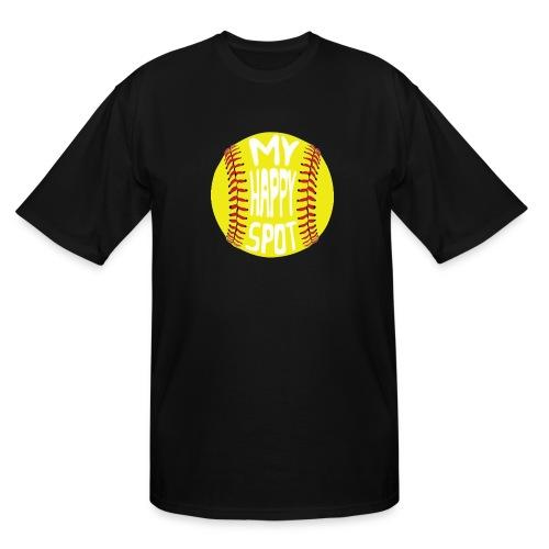 People s Republic of Burlington Softball - Men's Tall T-Shirt