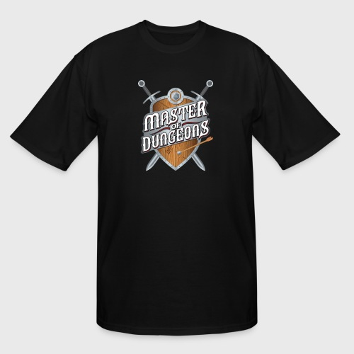 master of dungeons shield and swords fantasy gift - Men's Tall T-Shirt