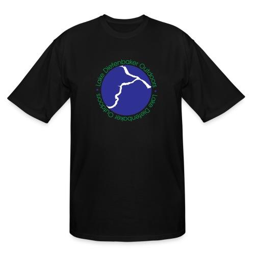 LDO WHITE LOGO - Men's Tall T-Shirt