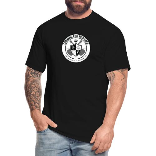 Looking For Heather - Crest Logo - Men's Tall T-Shirt