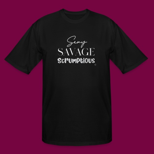 Sexy, savage, scrumptious - Men's Tall T-Shirt