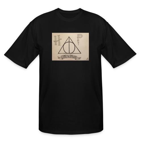 Deathly Hallows - Men's Tall T-Shirt