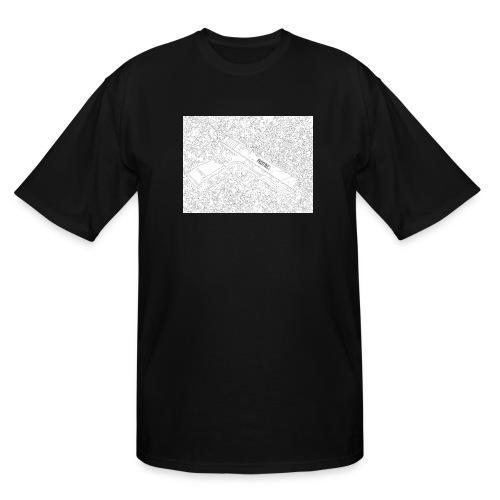 GunLines - Men's Tall T-Shirt