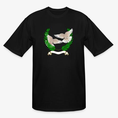 OLIVE BRANCH DOVES - Men's Tall T-Shirt