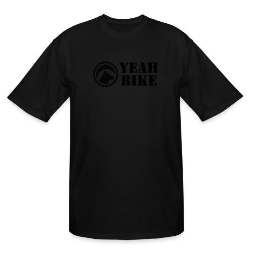 Yeah Bike black - Men's Tall T-Shirt