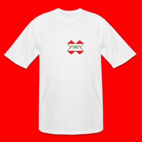 SANTA CLAUS IS THE MAN - Men's Tall T-Shirt