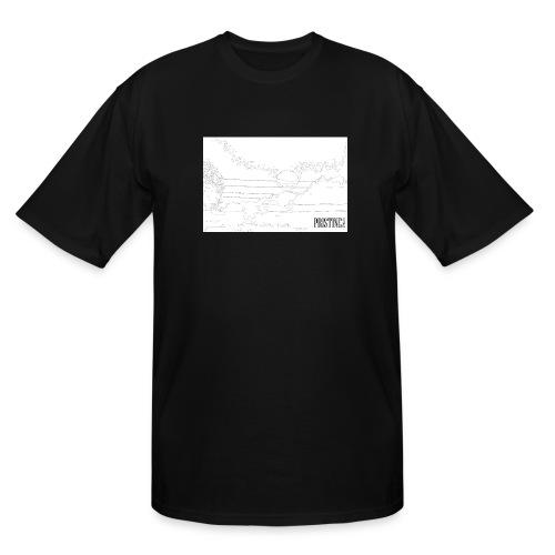 SunLines - Men's Tall T-Shirt