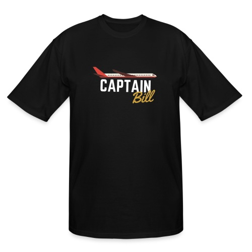 Captain Bill Avaition products - Men's Tall T-Shirt