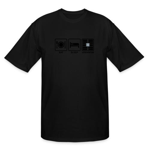 Eat Sleep Urb big fork-LG - Men's Tall T-Shirt