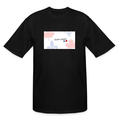 Logo do Canal - Men's Tall T-Shirt