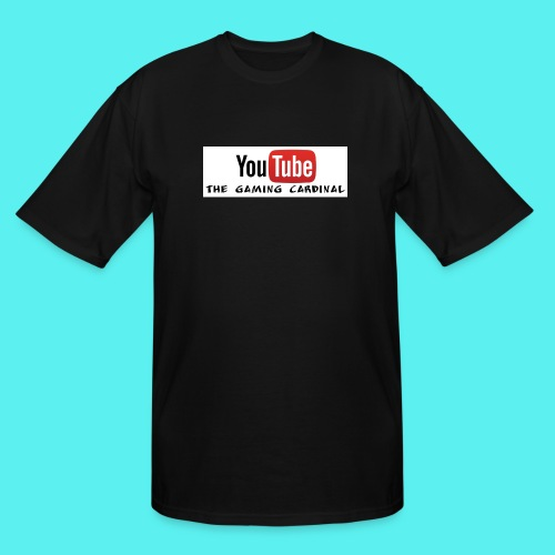 Youtube temp logo - Men's Tall T-Shirt