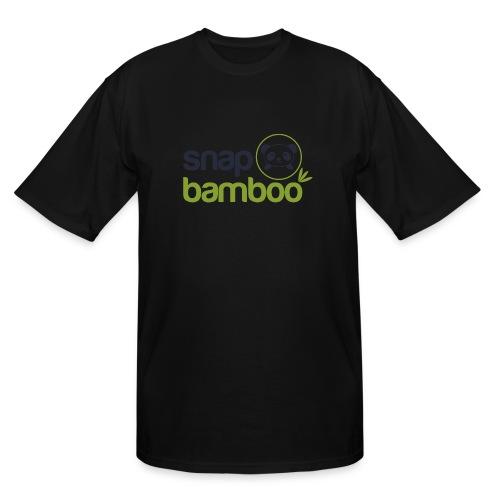 Snap Bamboo Square Logo Branded - Men's Tall T-Shirt