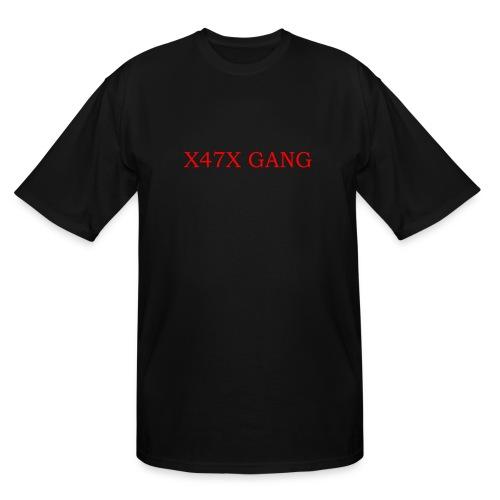 X47X GANNNGGGGG - Men's Tall T-Shirt