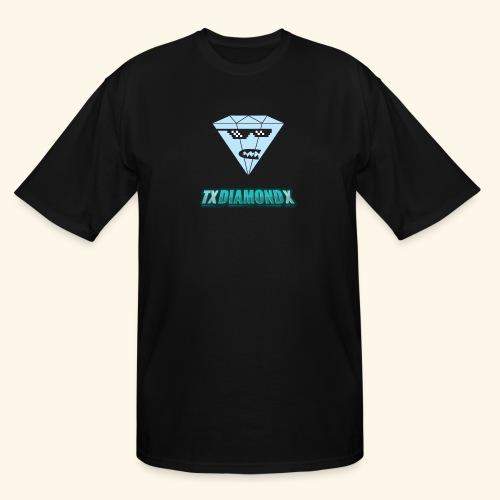 Txdiamondx Diamond Guy Logo - Men's Tall T-Shirt