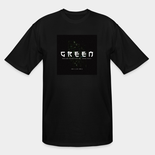 Green/Gorgeous reason evolving, ending never - Men's Tall T-Shirt