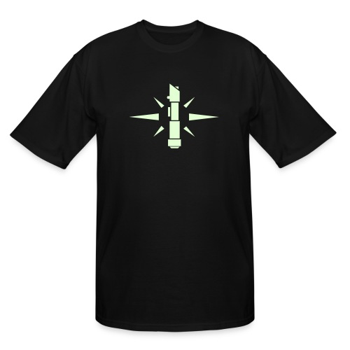 SWTOR Jedi Knight Class Logo 1-Color - Men's Tall T-Shirt