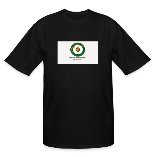 David Doyle Arts & Photography Logo - Men's Tall T-Shirt