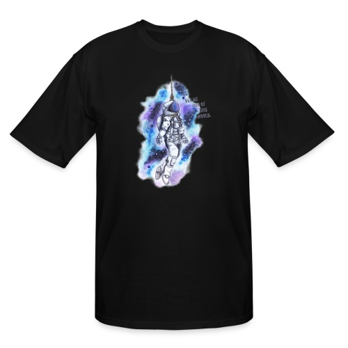 Get Me Out Of This World - Men's Tall T-Shirt