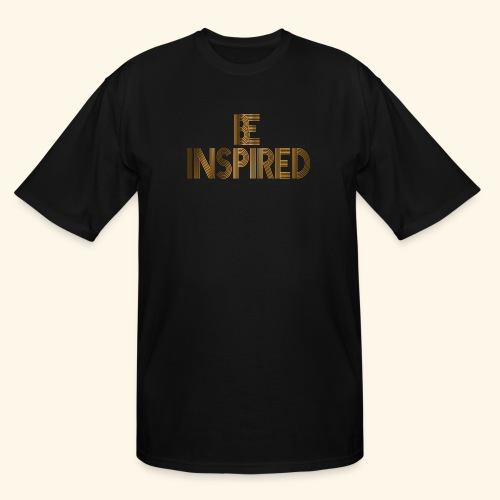 BE INSPIRED #3 - Men's Tall T-Shirt