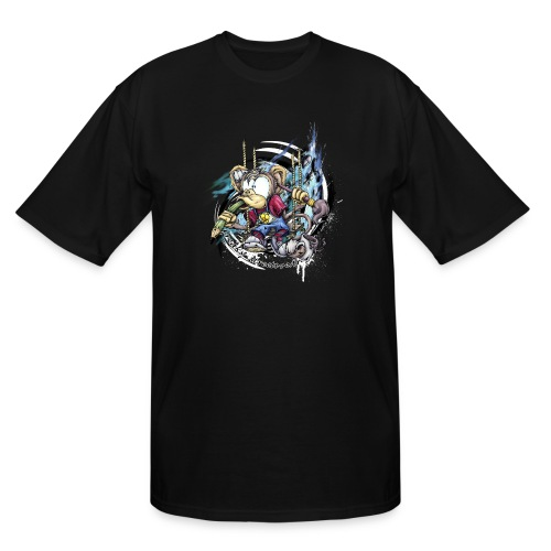 the graphic monkey - Men's Tall T-Shirt