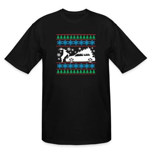 MK6 GTI Ugly Christmas Sweater - Men's Tall T-Shirt