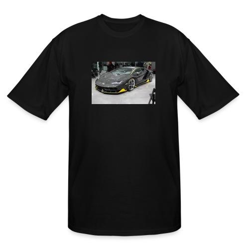 Lamborghini Centenario front three quarter e146585 - Men's Tall T-Shirt