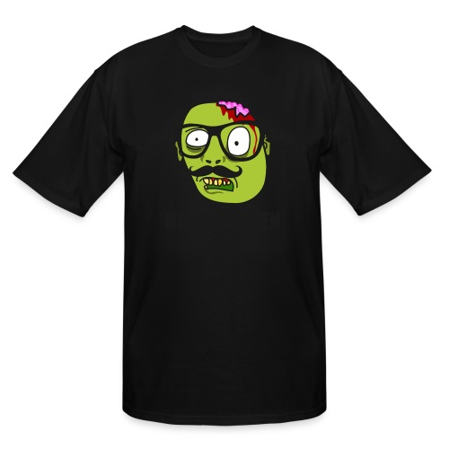 Hipsterween Zombie - Men's Tall T-Shirt