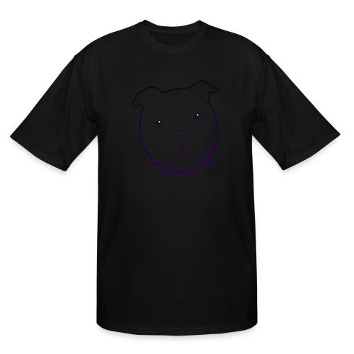 Pit Tee Outline alt. - Men's Tall T-Shirt