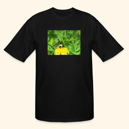 Dandelion Bee - Men's Tall T-Shirt