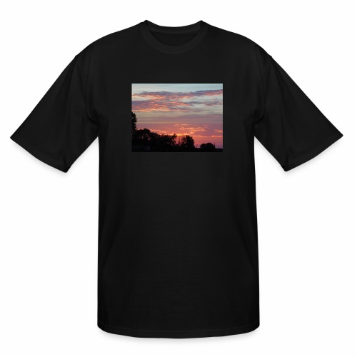 Sunset of Pastels - Men's Tall T-Shirt