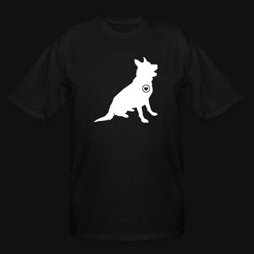 German Shepherd love - Men's Tall T-Shirt